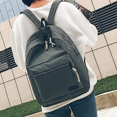 J II後背包 粗曠雙色後背包-6198