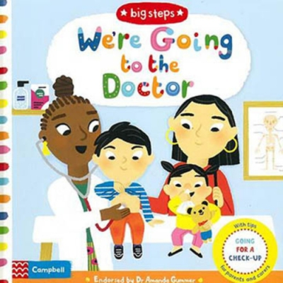Big Steps:We re Going To The Doctor 生活練習:看醫生操作書