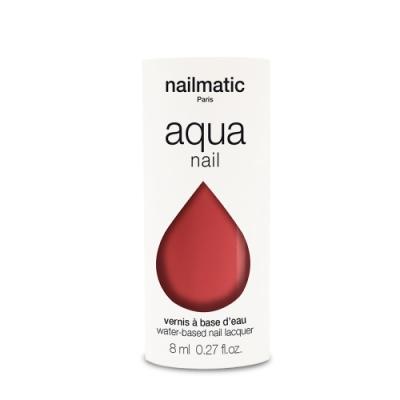 法國 Nailmatic 水系列經典指甲油 - Poppy 珊瑚紅 - 8ml