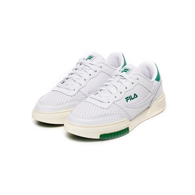 FILA ORIGINAL FITNESS SAG 男復古版鞋 運動鞋-白/綠 1-C605V-146