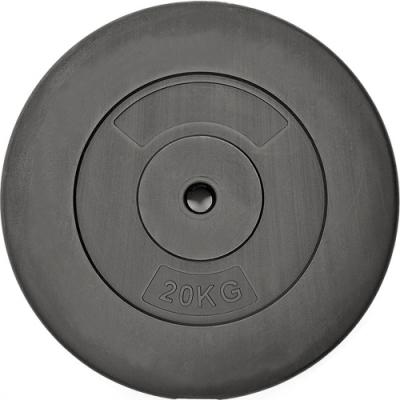 20公斤槓鈴片(單片) 20KG水泥槓片