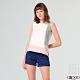G2000暗紋短袖休閒上衣-粉紅色 product thumbnail 1