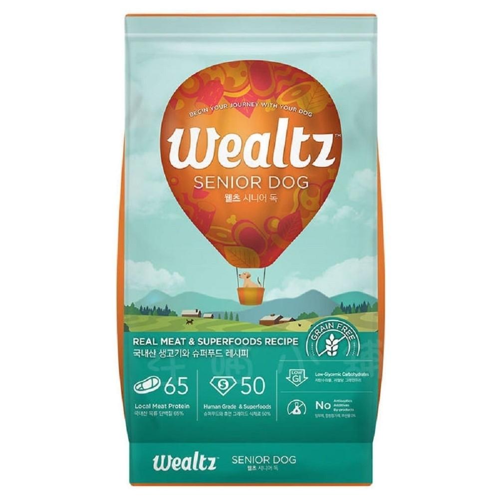 Wealtz維爾滋天然無穀寵物糧-中高齡犬食譜 2.1kg (300g*7EA)【兩包組】