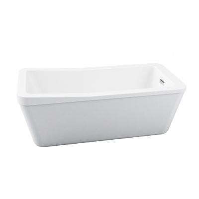 【I-Bath Tub】精品獨立浴缸-精緻系列 140公分 YBM-6653G