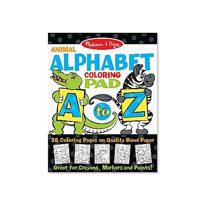 美國瑪莉莎 Melissa & Doug 大型兒童繪圖本2入 - 英文字母 A - Z