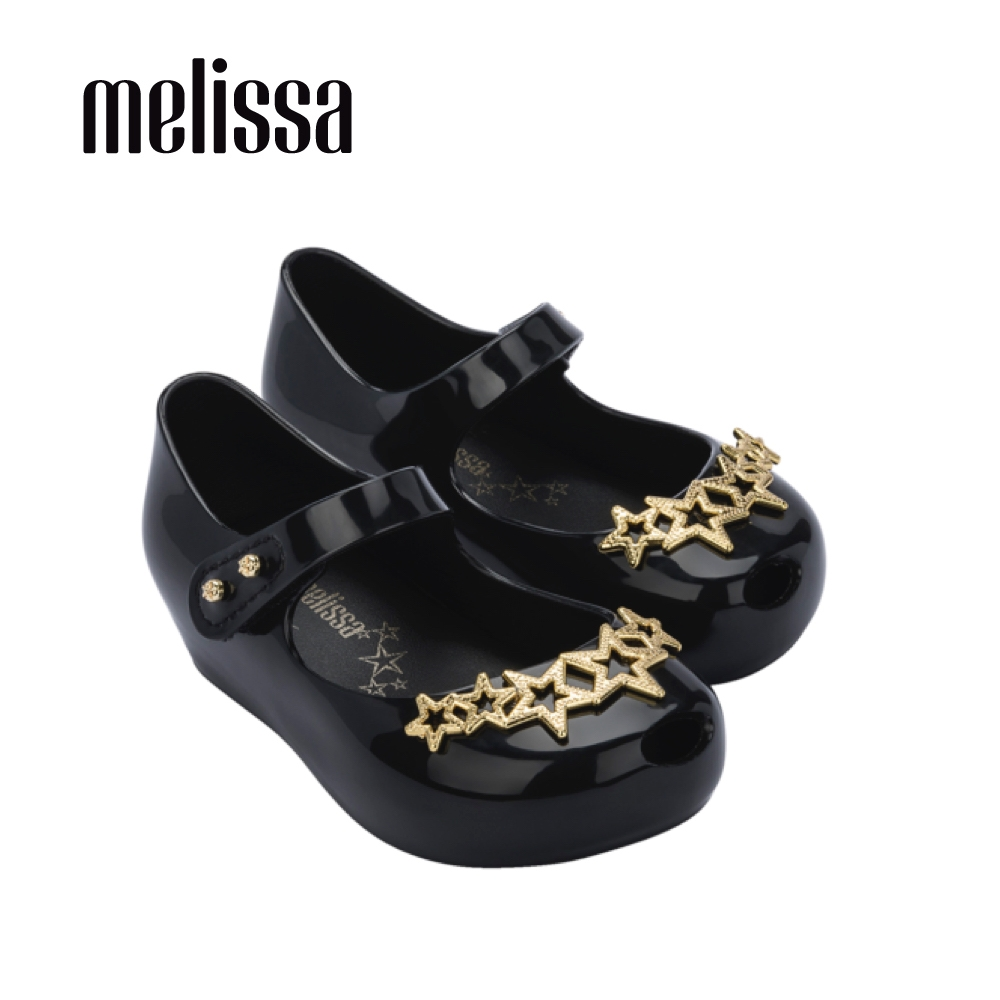 Melissa ULTRAGIRL金星裝飾娃娃鞋 寶寶款-黑