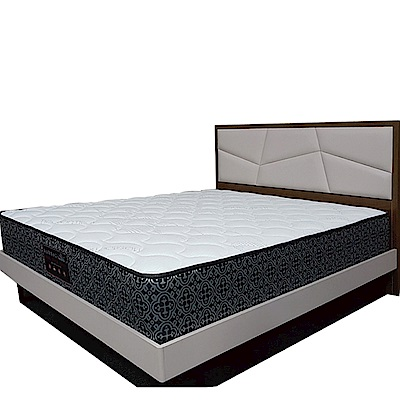Albert 艾柏 防蹣抗菌6尺雙人加大獨立筒床墊-180x188x24.5cm免組