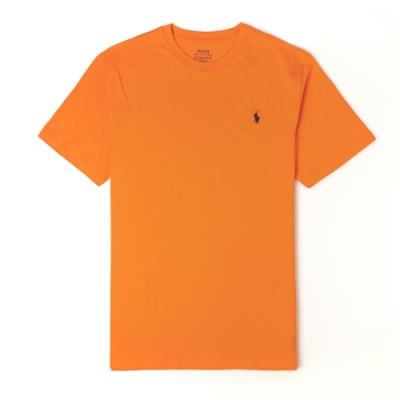Polo Ralph Lauren 經典小馬圓領T恤(青年款)-橘色