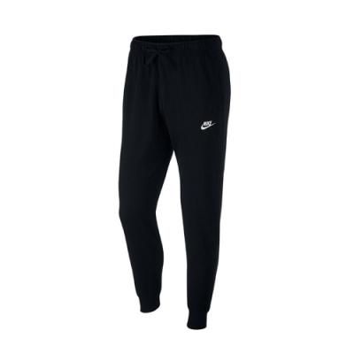 Nike 長褲 Club Fleece Pants 男款 NSW 縮口褲 運動休閒 口袋 基本 穿搭 黑白 BV2763010