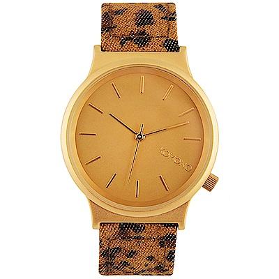 [時時樂限定]KOMONO Wizard Print 腕錶/37mm-共5色