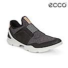 ECCO BIOM STREET. 裸足概念套入式運動鞋 女-黑灰
