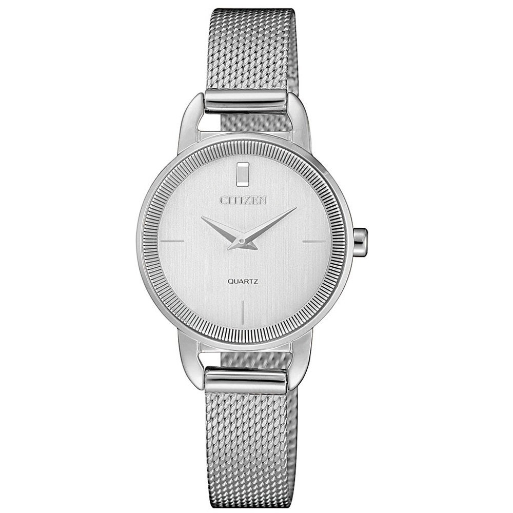 CITIZEN星辰LADYS簡約時尚米蘭帶腕錶/EZ7000-50A @ Y!購物