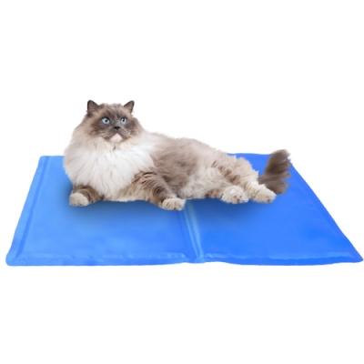 DYY有效涼爽》多功能寵物雙面凝膠散熱涼墊款式隨機【M】40*48cm