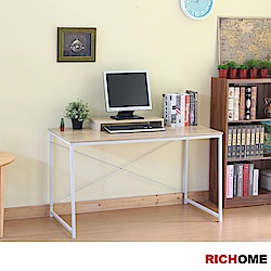 簡單美學平面書桌(橡木色)