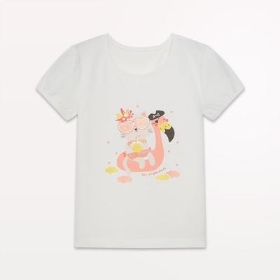 【麗嬰房】 EASY輕鬆系列 女童海盜樂園印花短袖上衣 (76cm~130cm)