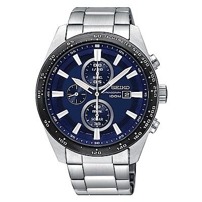 ◤SEIKO熱賣推薦◢ SEIKO 精工 CRITERIA登躍極致太陽能運動腕錶/V176