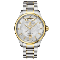 ERNEST BOREL 瑞士依波路錶 布拉克系列 金色鑲鑽 41mm