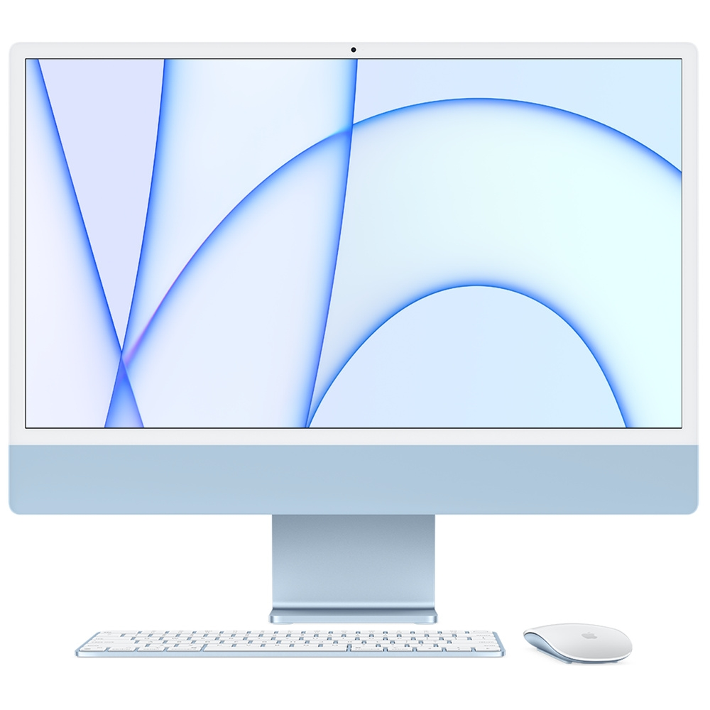 Apple iMac 24吋 4.5K M1 8核心CPU與8核心GPU/8GB/256GB product image 1