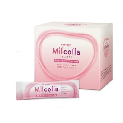 買就送5% 三得利 Milcolla 蜜露珂娜膠原蛋白粉(30日份/盒) (隨機加贈隨身包x1)