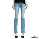 BRAPPERS 女款 新美腳Royal系列-彈性小靴型褲-淺藍