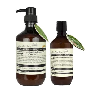 Amma Garden艾瑪花園 洋甘菊護色水亮強韌洗髮精750ml(送300ml洗或沐)-快速到貨