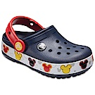 Crocs 卡駱馳 (童鞋) 米奇酷閃小克駱格 204994-410