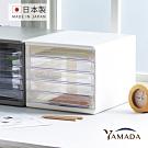 日本山田YAMADA 日製桌上型五層A4文件抽屜櫃(5低抽)