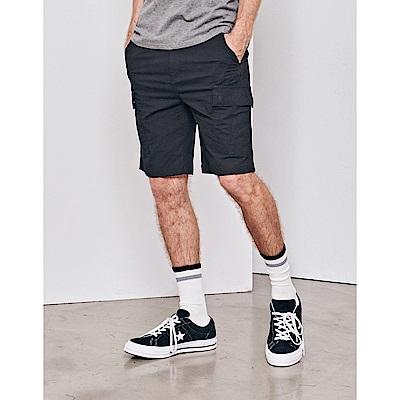 CACO-壓紋透氣短褲(兩色)-男【SNA063】