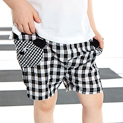 WHY AND 1/2 mini 格子平織短褲 1Y~4Y