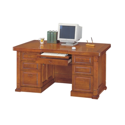 柏蒂家居-菲洛5.8尺電腦辦公桌/工作桌-174x81x81cm