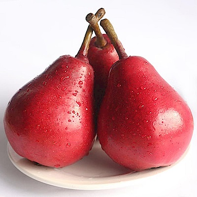 【天天果園】美國加州紅西洋梨(每顆約140g) x11顆