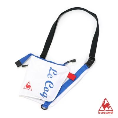 法國公雞牌側背包 LYL0372390-中性-白