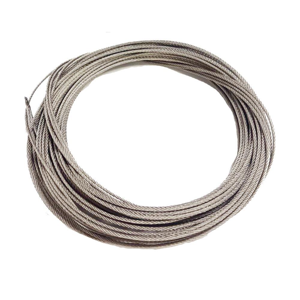 CZ002 長度1米 不鏽綱綱絲晒衣繩S304單桿式/雙桿式通用 通用升降不銹鋼繩