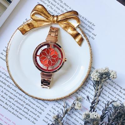 RELAX TIME RT-63系列 綻放腕錶(RT-63-10)-紅x玫/36mm