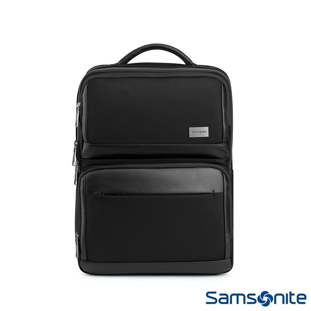 (6/1 10:00 ~6/21 10:00 送超贈點1000) Samsonite新秀麗 WALDER輕商務大容量筆電後背包 15.6