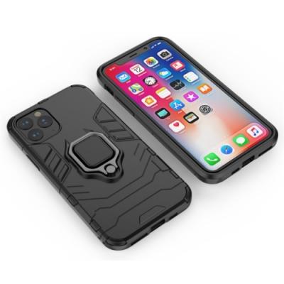 TOTOMO Apple iPhone12/12Pro(6.1吋)保護殼(支援可搭配磁吸支架)-黑