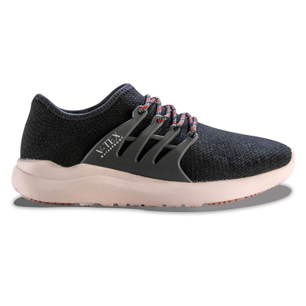 V-TEX 時尚針織耐水鞋/防水鞋 地表最強耐水透濕鞋-粉武士(女)