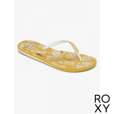 【ROXY】PORTOFINO III 拖鞋 白色