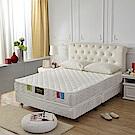 MG珍寶-乳膠抗菌+3M防潑水+側邊強化獨立筒床墊-雙人5尺-本月限定