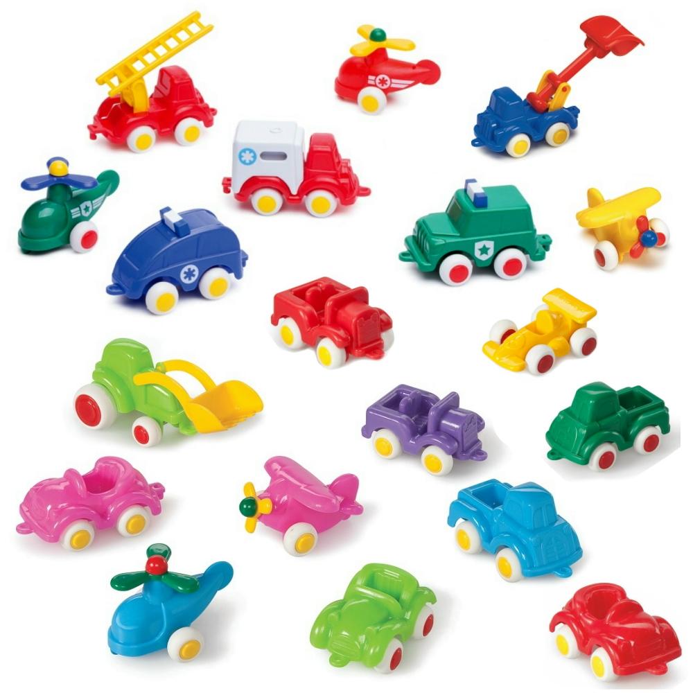 瑞典Viking Toys維京玩具-玩具小車5入組(款式隨機)
