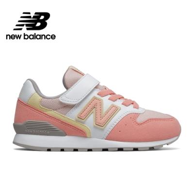 【New Balance】童鞋_中性_粉橘_YV996PPY-W楦