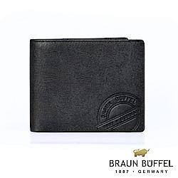 BRAUN BUFFEL - 瑞諾斯系列10卡皮夾 - 黑