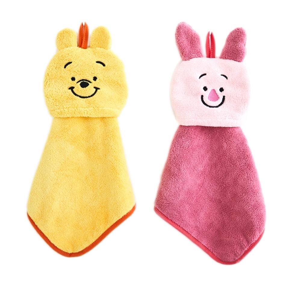 迪士尼Winnie the Pooh 小熊維尼超柔擦手巾(2入)