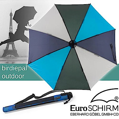 EuroSCHIRM BIRDIEPAL OUTDOOR 戶外專用風暴傘_藍灰