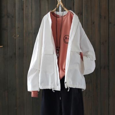 重磅推薦版經典夾克外套可抽緊上衣-設計所在