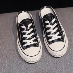 韓國KW美鞋館 中性輕柔簡約百搭穆勒鞋 黑