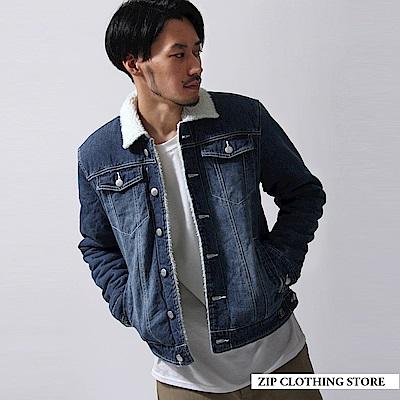 丹寧牛仔外套(2色) ZIP日本男裝