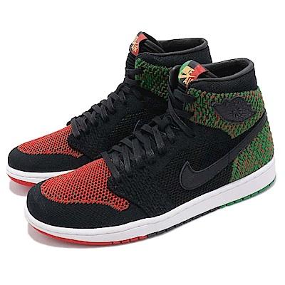 Nike 籃球鞋 Jordan 1 Flyknit 男鞋