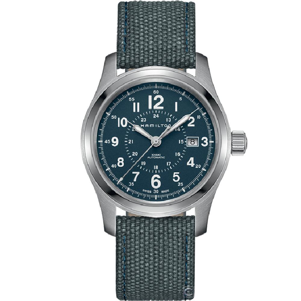 (無卡分期12期)Hamilton Khaki Field系列探險者機械錶(H70605943)