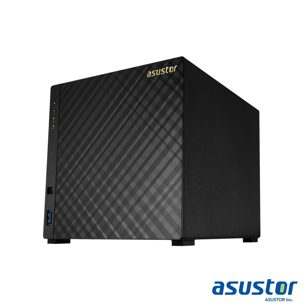 ASUSTOR華芸 AS1004T v2 4Bay NAS網路儲存伺服器